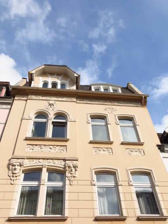 Das Gebäude in Leverkusen
